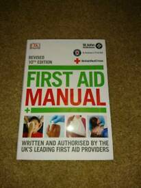 First aid manual brand new
