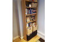 Bookshelves / 5 Adjustable Shelves / IKEA BILLY / Light Wood Effect