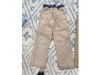2 pairs of Boys trousers age 8 Mini Boden and Next