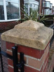 WANTED Sandstone pillar cap cash paid !