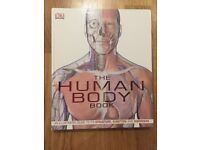 Human body book and colouring book