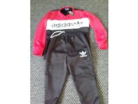 Men's new Adidas tracksuit with tags