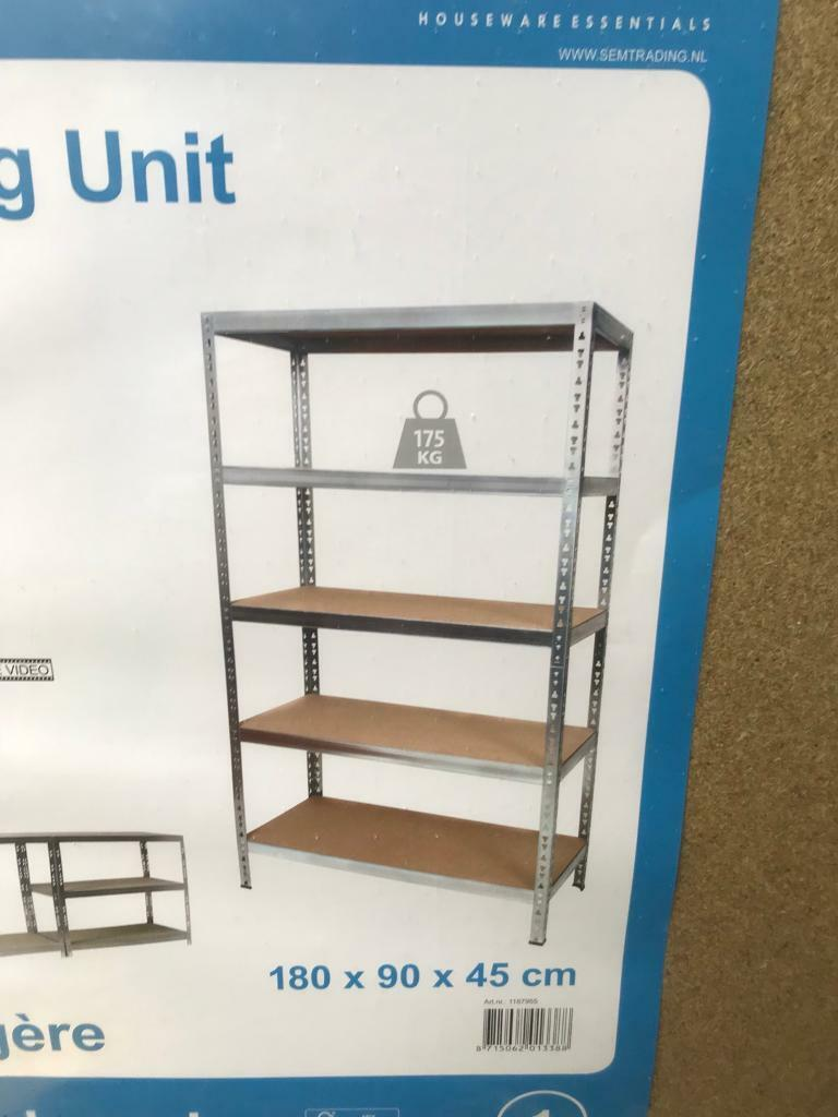 size 40 409c9 43ac8 Brand new Homebase shelving unit RRP £49 | in Cotham, Bristol | Gumtree