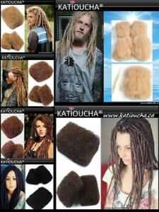 BULK HAIR FOR DREADLOCKS, TWISTS - 100% HUMAN BRAZILIAN PERMED HAIR