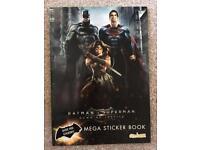 Batman v Superman Sticker Book