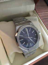 Audemars Piguet Royal Oak, 41mm, Blue Dial, Swiss ETA, Water Resistant (3 Day Promo Price)