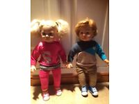Sally & Sam dolls