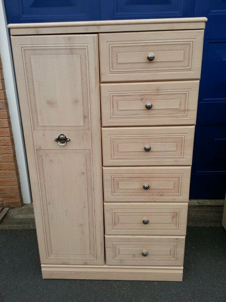 Bedroom Tallboy Chest By Alstons Nice Condition Other