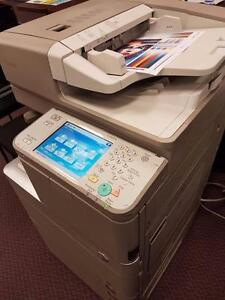 ONLY 923 PAGES PRINTED! COLOR CANON COPIER imageRUNNER ADVANCE IRA-C5045 COPY MACHINES COLOUR PHOTOCOPIERS SCANNER FAX