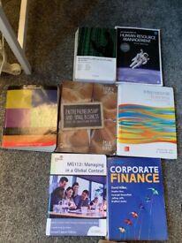 Excellent Condition. University Textbooks.