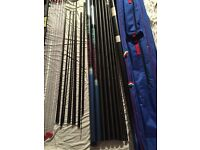 Maver fx2 14m pole (6 top kits / super canal pole or silvers pole)