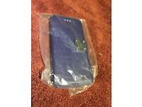 iPhonie 6 wallet case blue leather brand New only £6.50