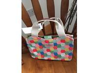 Brand new Cath Kidston patchwork /spot bag
