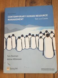 Contemporary Human Resource Management Book Redman & Wilkinson