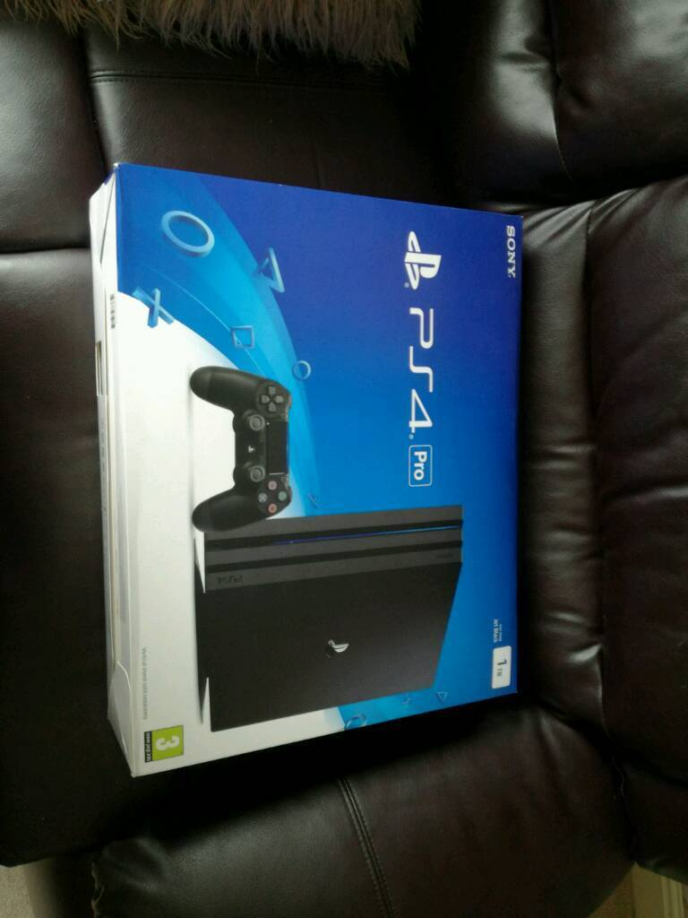 Ps4 Playstation 4 Pro 1tb
