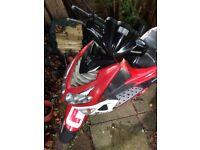 Peugeot 50cc speed fight2, 22819 miles, 1 key, No mot, runs perfect £350
