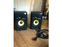 ROKIT RP5 monitor speakers (pair) with power cable