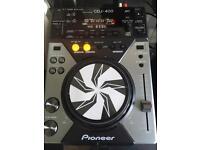 Pioneer cdj 400x2 pioneer Djm 300 mixer