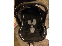 Venice car seat, isofix and changing bag