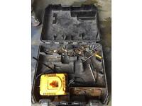 Used dewalt case and charger
