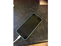 iPhone 5c. 1 year old. Screen all in tact.blue in colour. Tesco mobild