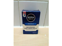 **BRAND NEW AND BOXED** Mens Nivea Replenishing Post Shave Balm 100ml
