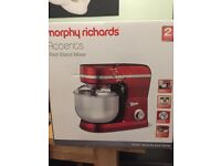 FOOD MIXER, Morphy Richards Accents Stand Mixer, Brand New