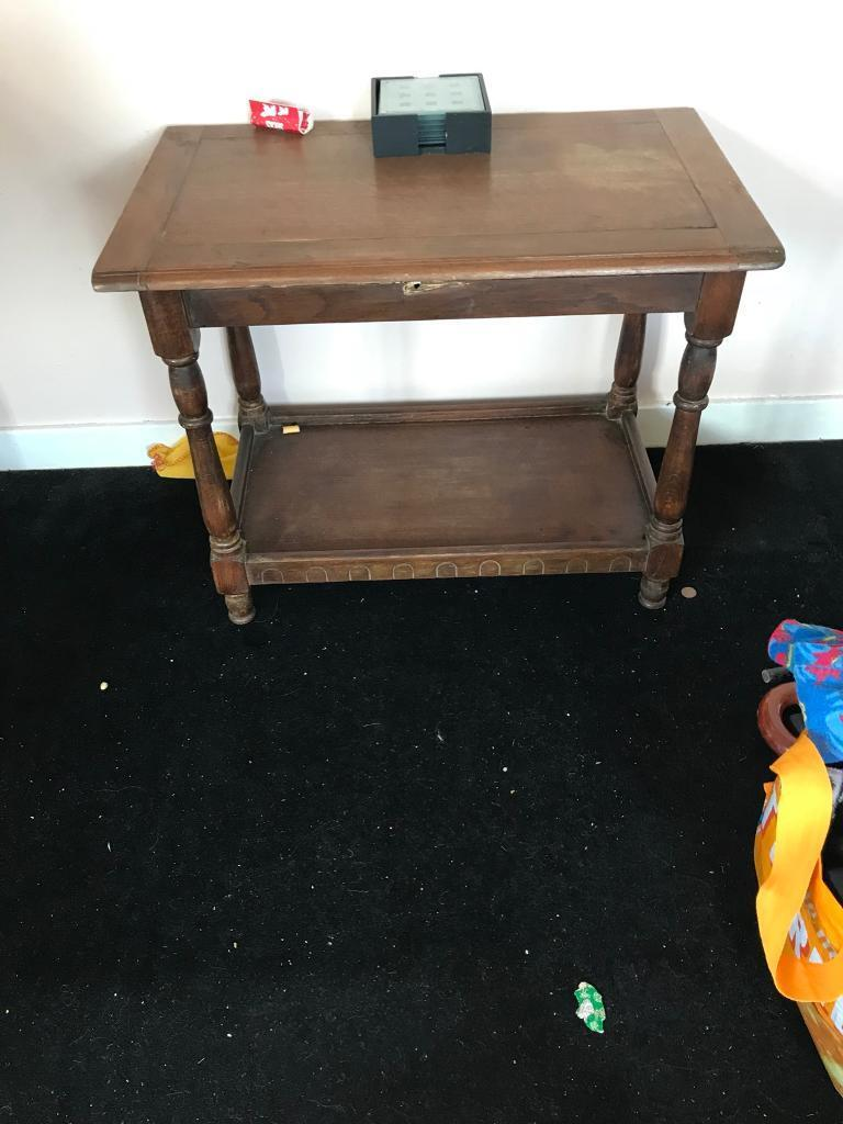 Old Fashioned Side Table In Loughborough Leicestershire Gumtree - Old fashioned side table