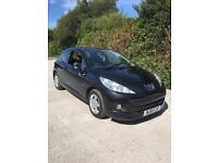 2011 Peugeot 207 1.4 Envy Petrol Black