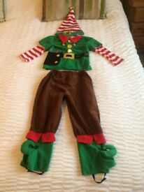 Kids Elf Dressing Up Outfit (Age 3-5 years)