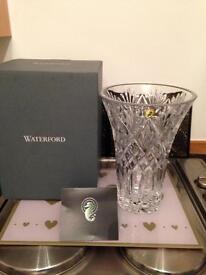"""Waterford 10"""" crystle vase"""
