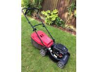 Mountfield HP470 push petrol lawnmower.