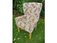 High back winged lounge/comfort OAP chair