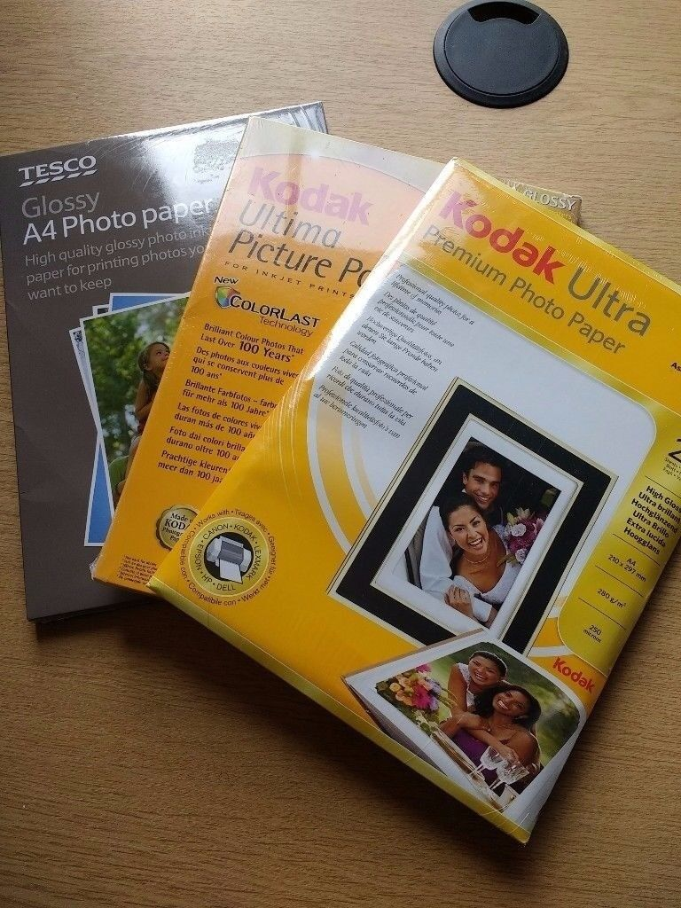 Photographic paper - 110 sheets, all new and unused!