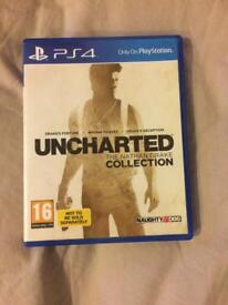 Uncharted PS4 game The Nathan Drake Collection