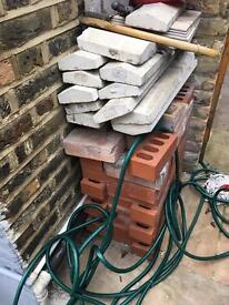 Free building material in Vauxhall.