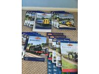 A large collection of Bachmann magazines and catalogues.