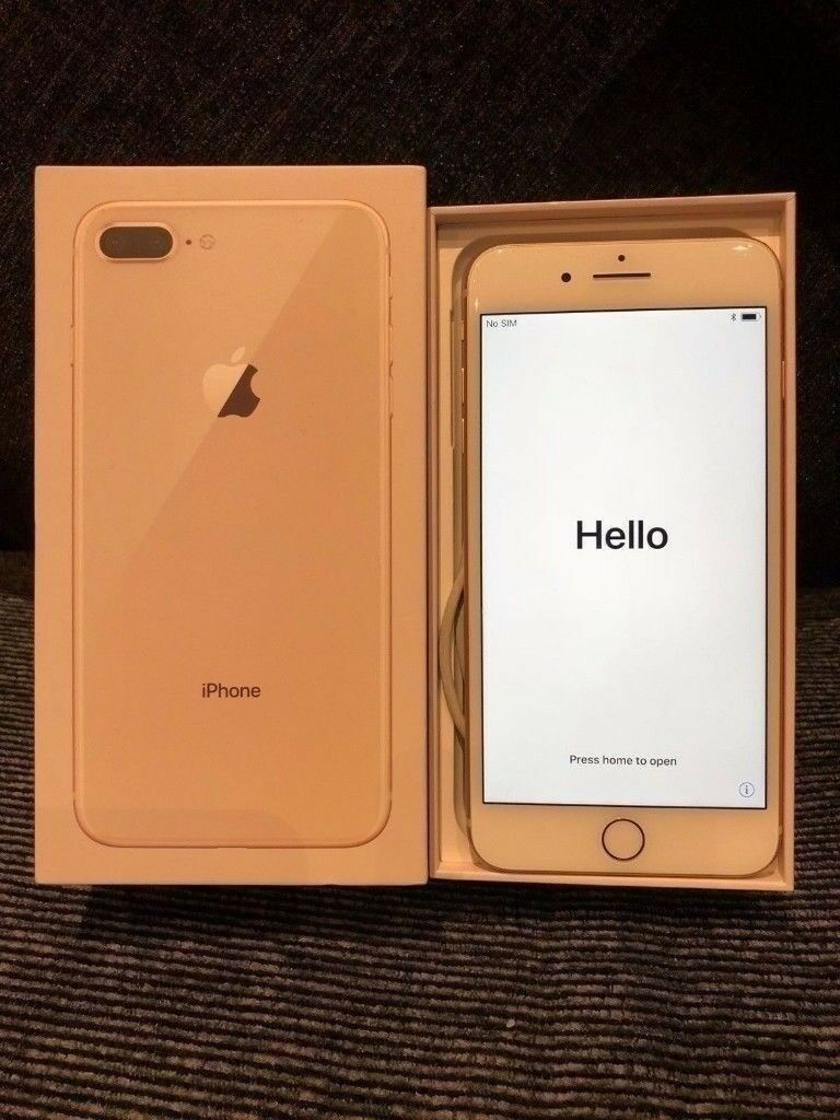 Boxed Apple Iphone 8 Plus 55 Unlocked 64gb Original Box Gold In Leicester Leicestershire Gumtree