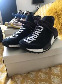 Adidas Pharrell Williams NMD Hu Holi Black