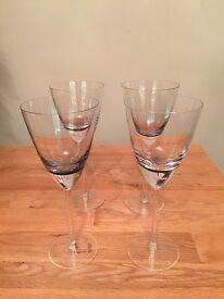Betty Jackson From Debenhams wine glasses x4