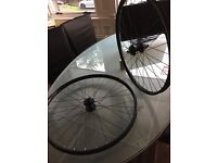 27.5 MTB Wheelset Enduro XC AM FR SRAM Hubs WTB i25 rims 100x15 front 142x12 rear disc