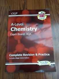 AQA A-Level Chemistry Revision book