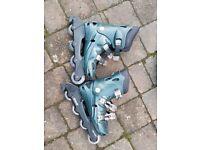 CAS TXR-400 Inline Skates - Excelerator - UK Size 4 good condition