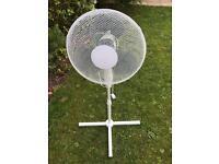 Pedestal Rotating 3 Speed Fan