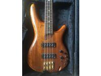 Ibanez SR1200 Premium Bass Four String - Superb with Case Ibanez SR1200-VNF Vintage Natural Flat