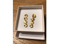 18ct Yellow Gold Vermeil on Sterling Silver Earrings