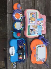 VTEC consoles and learning toys in excellent condition