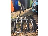 Bike rack for 4 bikes on towbar