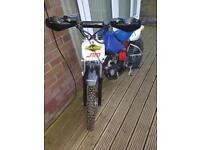 Demon x 110 pit bike