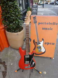Hofner Galaxy Vintage 1960s electric guitar project